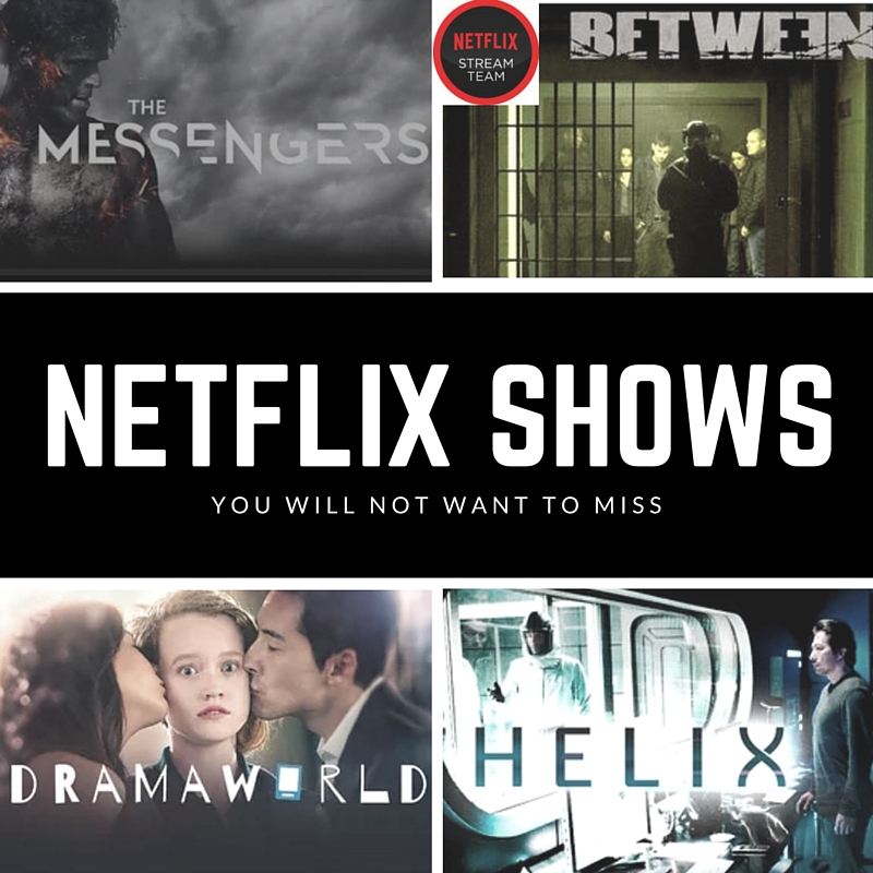 Four shows on Netflix that I have been obsessed with lately. They are all must-see shows. #StreamTeam