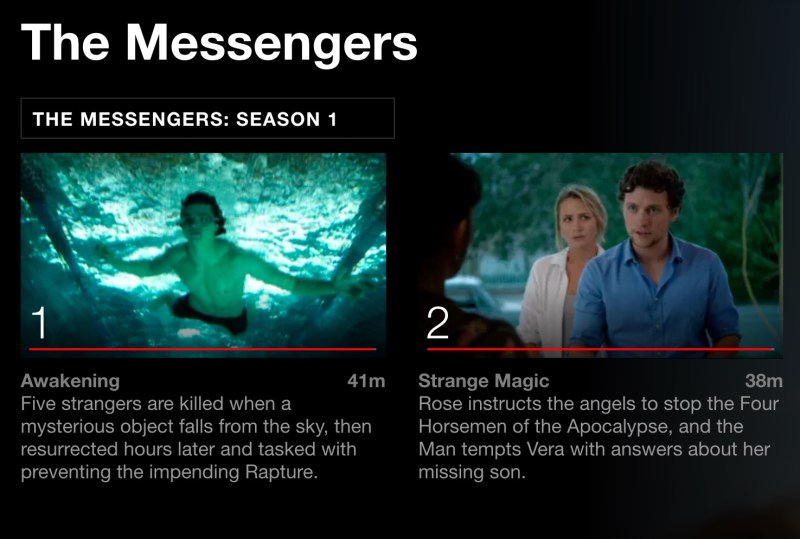 The Messengers on Netflix