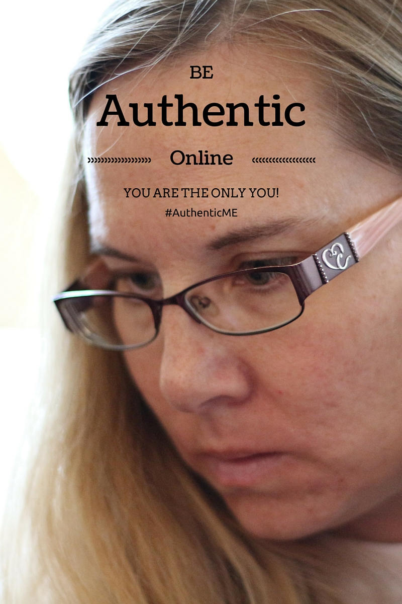 It is important to always be authentic online. You are the only you. Do not create a new persona for your personal brand. You will only disappoint others and lose their trust. #AuthenticME