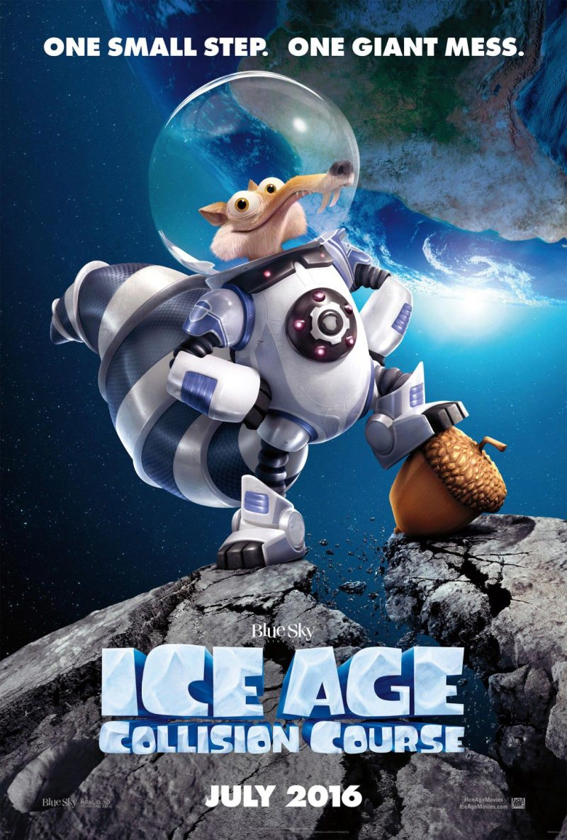Ice Age: Collision Course movie in theaters on July 22, 2016. #IceAge #CollisionCourse #YogaDay