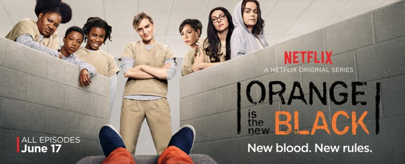 Orange is the New Black season 4 on Netflix. #streamteam