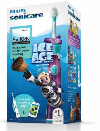 Philips Sonicare For Kids Ice Age power toothbrush giveaway #IceAge #CollisionCourse