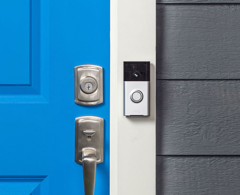 Check door without going to the door with Ring Video Doorbell #AlwaysHome