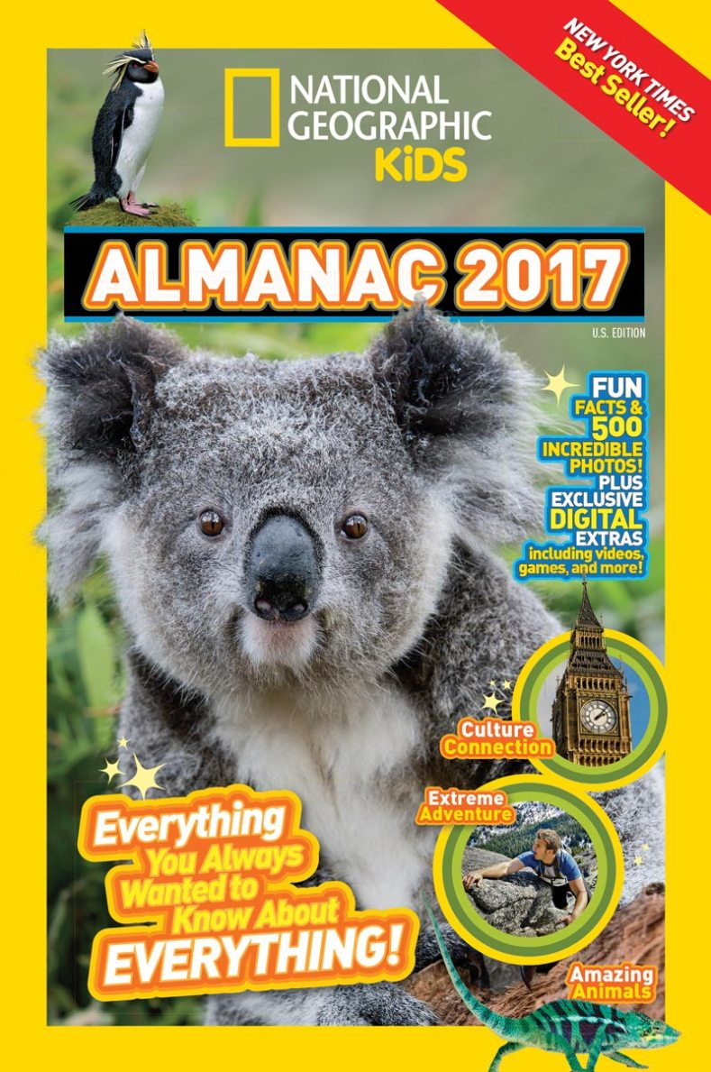 #NatGeoKidsBooks National Geographic Kids Almanac 2017