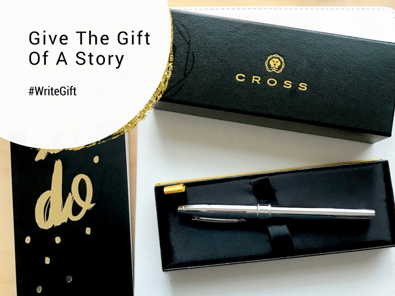 Give the gift of a story. A CROSS Pen with an engraved saying to remind someone of an achievement or special moment in their life. A personal gift they are sure to love. #WriteGift