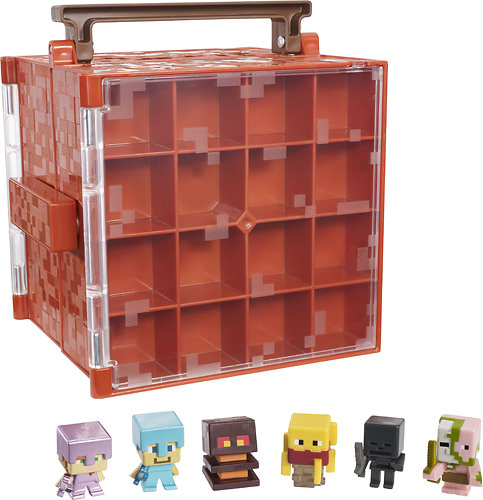 @Minecraft from @BestBuy Mini Figures Collectors case