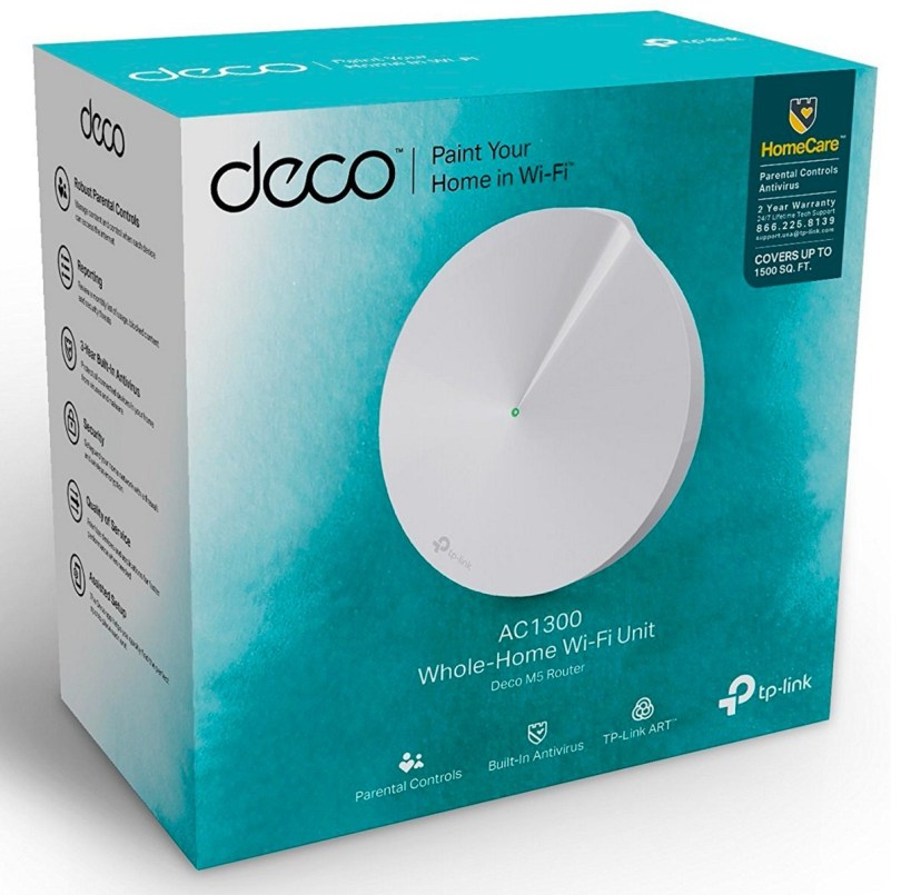 TP-Link Deco M5 whole house WiFi system single unit