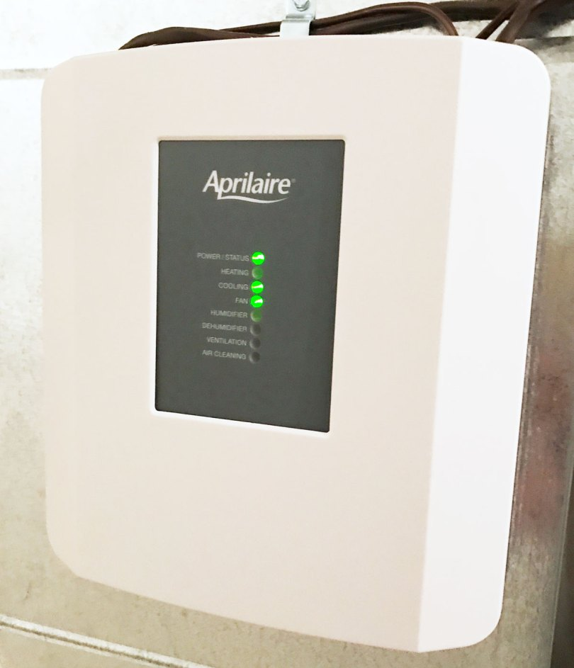 Aprilaire & Amazon Alexa installed in your home. Control the temperature in your house with your voice. #IAQbyAprilaire