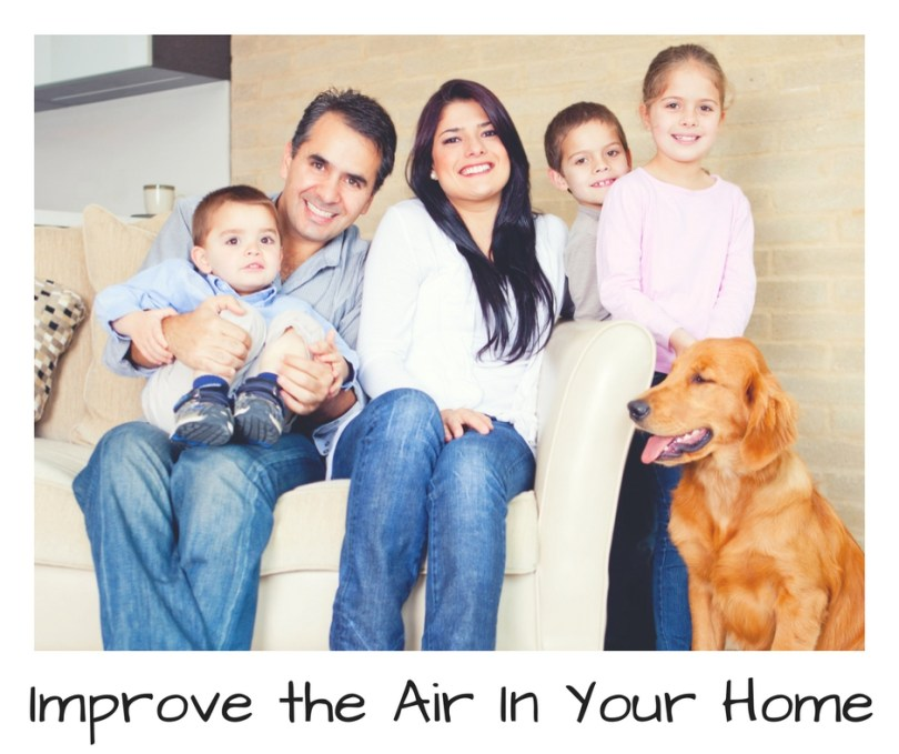 Improve Your Home's Indoor Air Quality. #IAQbyAprilaire