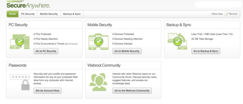 Webroot software to protect your family's devices from identity theft, malware, and phishing.