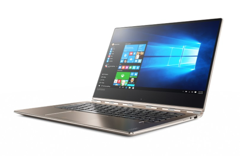 Lenovo Yoga 920 powered by Intel's 8th Generation core processor