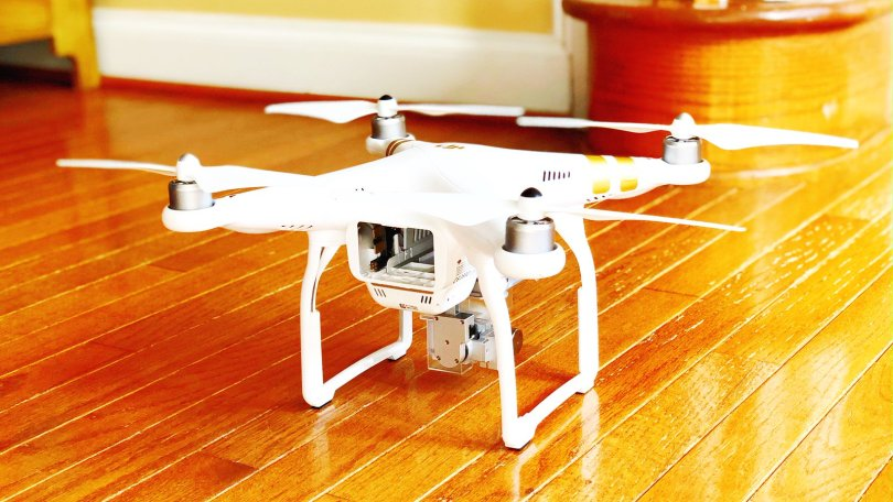 Drone on holiday gift list.