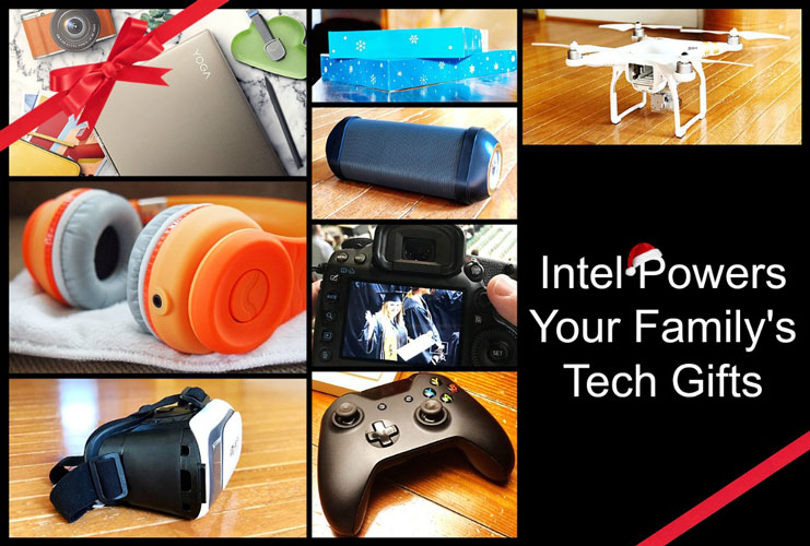 Intel Powers Your Tech Gifts with #8thGen Intel® Core processor