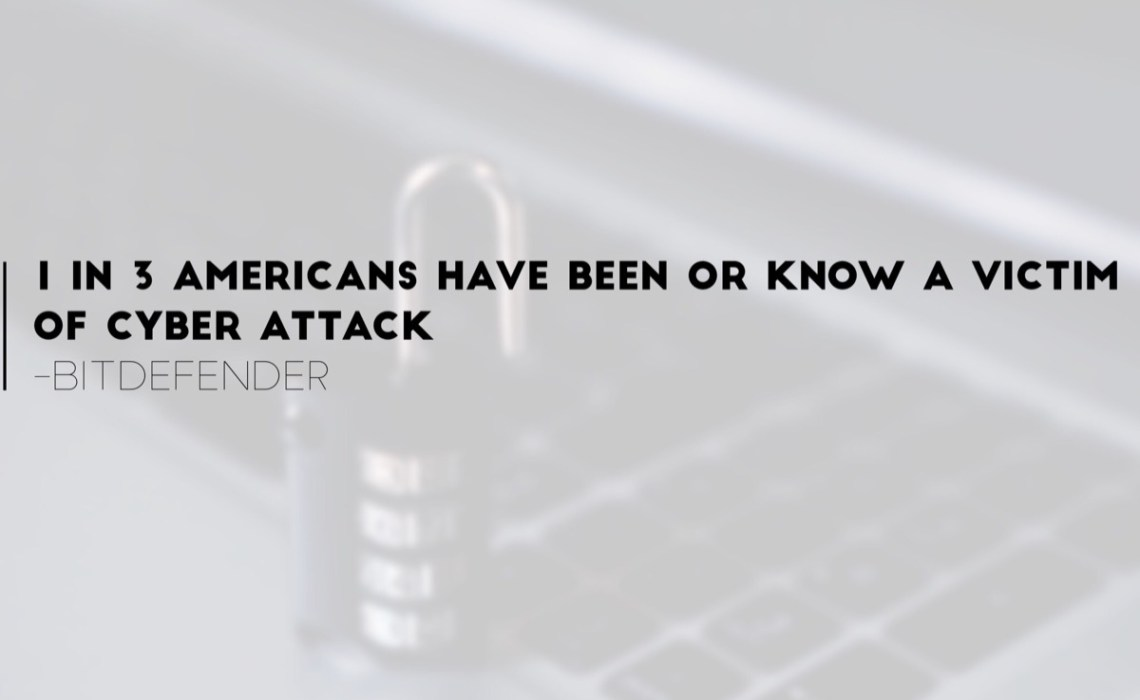 1 in 3 Americans have been or know a victim of cyber attack