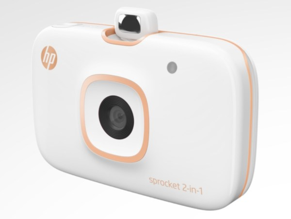 HP Sprocket 2-in-1 photo printer