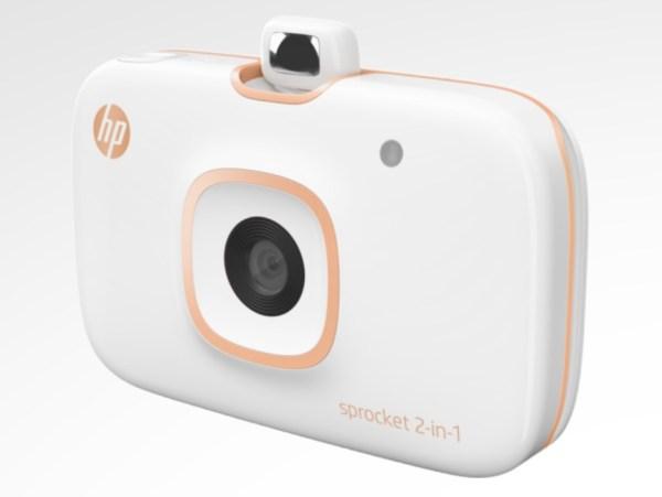 HP Sprocket 2-in-1 photo printer