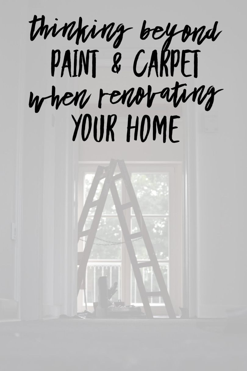 Make sure you have a healthy home when renovating your home. #IAQbyAprilaire