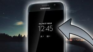 always on display mode amoled smartphone sans root