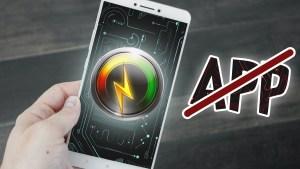booster android sans application paramètres