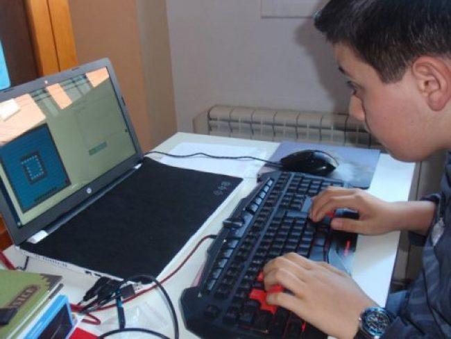 Iago programador 13 anys