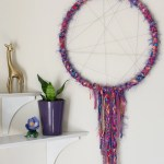 Embroidery Hoop Yarn Wreath Scratch And Stitch