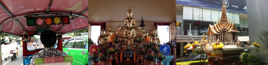 Tuktuk - Happy Buddha - offerplaats