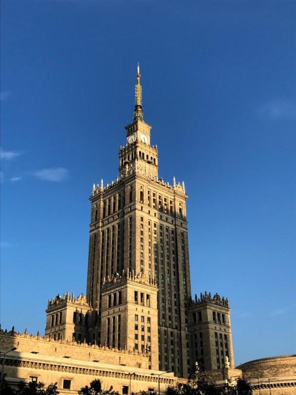 Citytrip Warschau Pkin