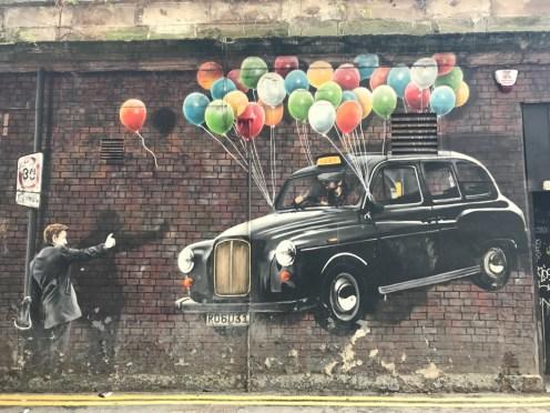 Glasgow streetart
