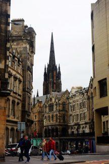 Edinburgh route schotland