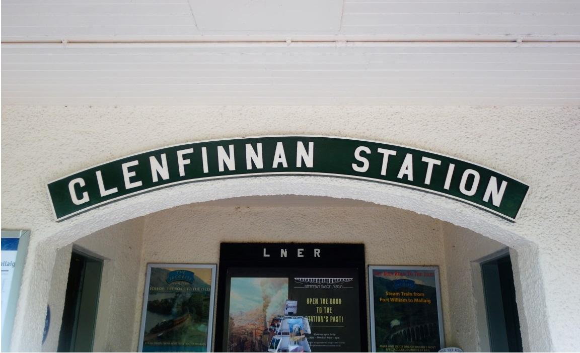 Glenfinnan schotland interrail