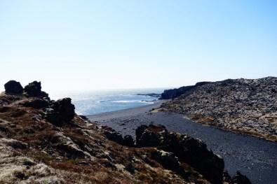 zwart strand ijsland