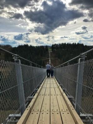 Geierlay hangbrug Eifel