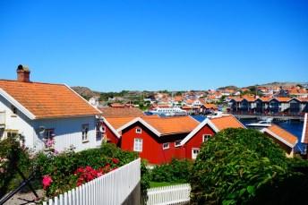 Roadtrip Zweden Fiskebackskil uitzicht