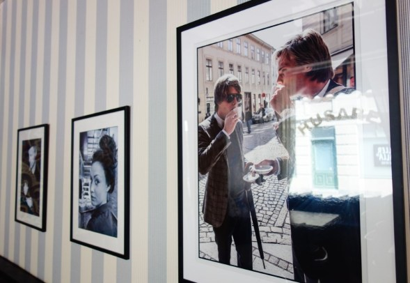 Citytrip Gothenburg Cafe Husaren art