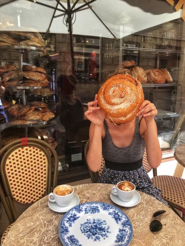 Gotenburg fika Cafe Husaren kanelbullar