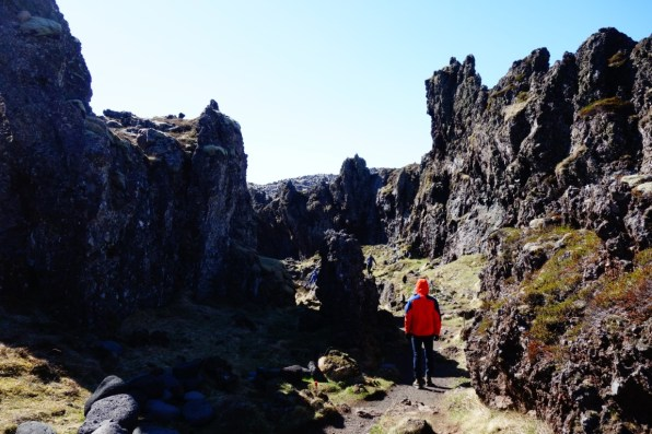Schiereiland Snaefellsnes Djupalon landschap