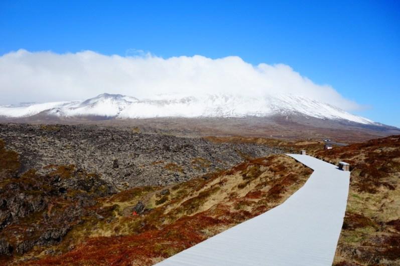 Schiereiland Snaefellsnes vulkaan