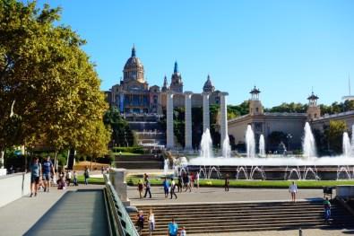 Barcelona Magic Fountain Montjuic