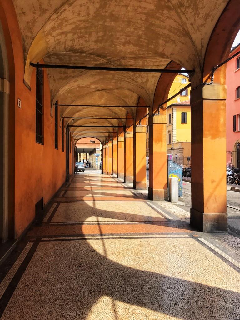 Cityguide Bologna portiek