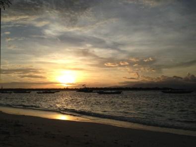 Route Indonesie Gili Trawangan sunrise 2