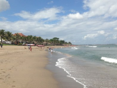 Route Indonesie Seminyak beach 1