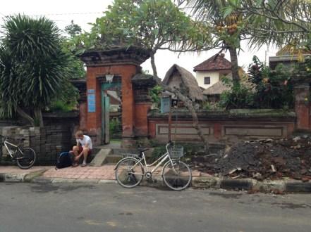 Route Indonesie Ubud fietsen