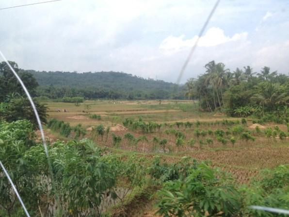 Route Indonesie trein naar Yogyakarta 1