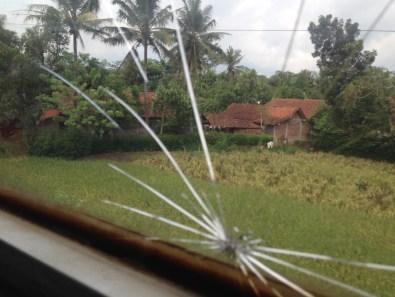Route Indonesie trein naar Yogyakarta 2