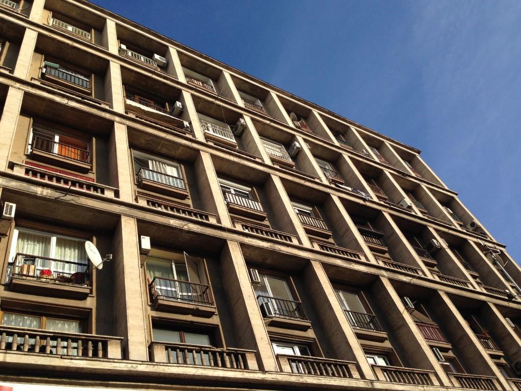 Boekarest gebouw
