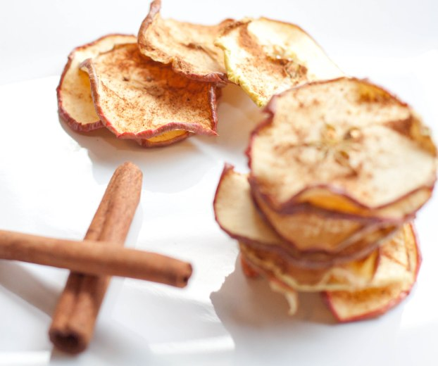 Pumpkin Pie Apple Crisps