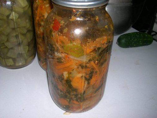 Naturally fermented Kimchi