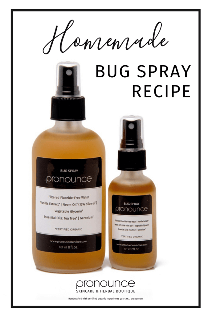Diy Bug Spray Recipe Bye Bye Bugs Especially Mosquitoes Scratch Mommy
