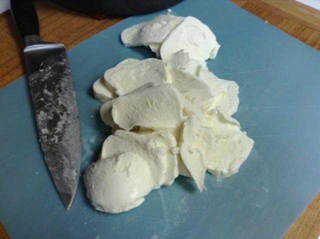 slice up your block mozzarella