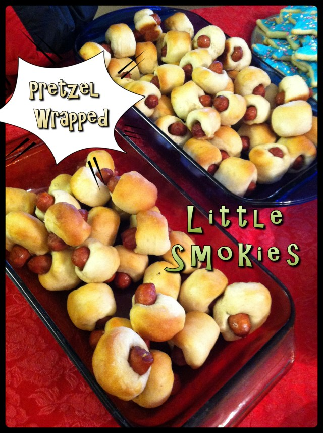 Pretzel Wrapped Little Smokies